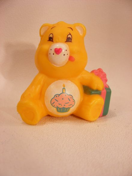 VINTAGE BIRTHDAY CARE BEARS MINIATURE